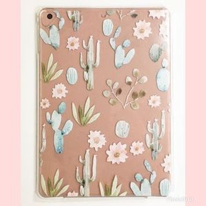 NEW IPAD AIR PRO SNAP ON CASE CACTUS FLOWERS